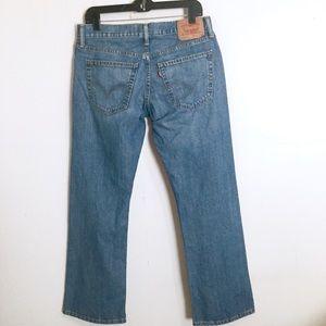 Levi's 527 Slim Boot Cut Jeans Mens 32 x 30